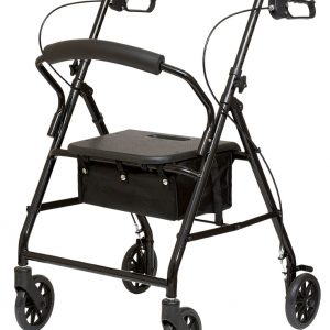 Steel Rollator with Loop Brakes