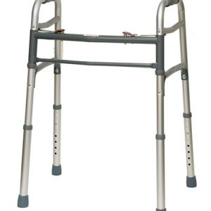 Deluxe 2 Button Folding Walker