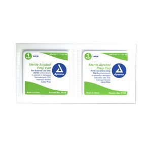 Sterile Alcohol Prep Pads - Large