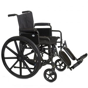 Economy Detachable Arm Wheelchair
