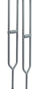 BARIATRIC: IMPERIAL STEEL CRUTCHES - 600lb capacity