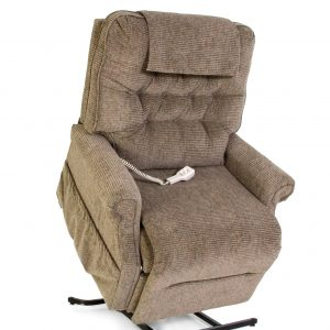 Pride lift chair 358 walnut