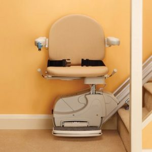 Straight Stair lift by Handicare