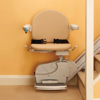 Straight Stairlift by Handicare