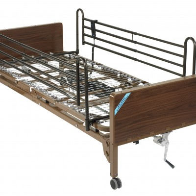 Delta Ultra Light Full Electric Bed with Full Rails