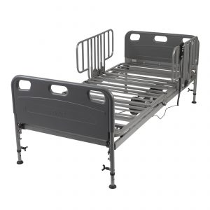 Competitor Semi-Electric Bed with Half Rails