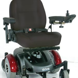"Image EC Mid Wheel Drive Power Wheelchair, 18"" Seat"