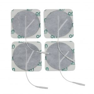 Round Pre Gelled Electrodes for TENS Unit, 3""