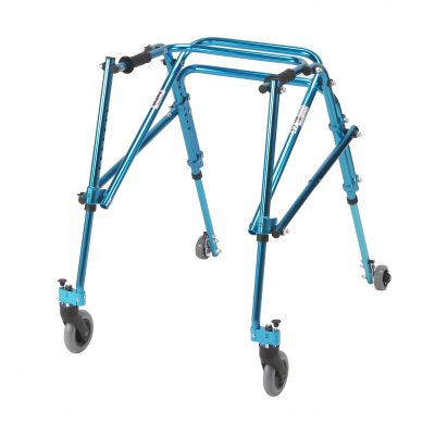 Nimbo Rehab Lightweight Posterior Posture Walker, Youth, Cornflower Blue