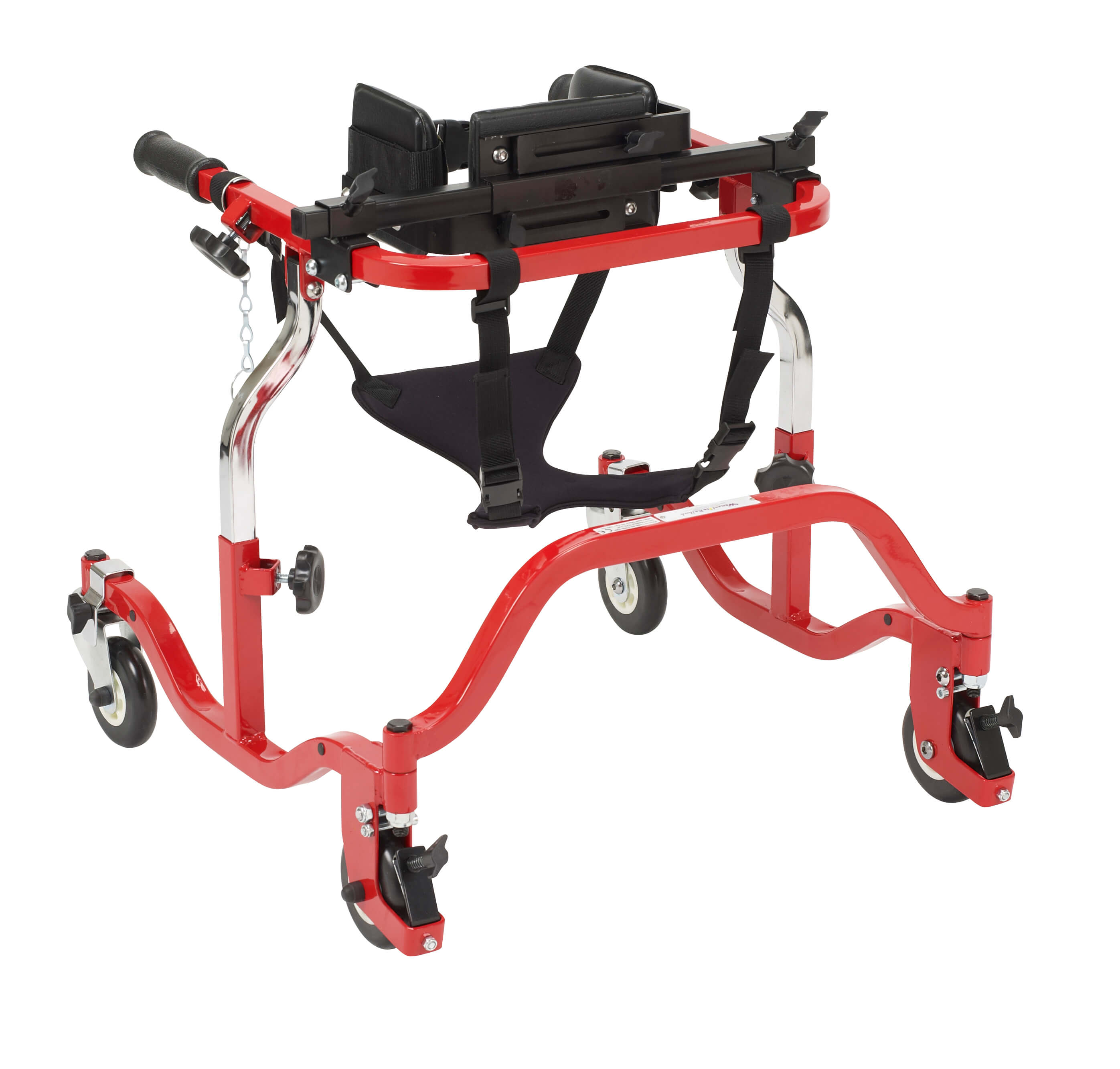 Luminator Gait Trainer, Anterior, Tyke, Red