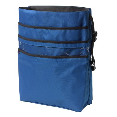 AgeWise Back of Wheelchair Organizer, Blue
