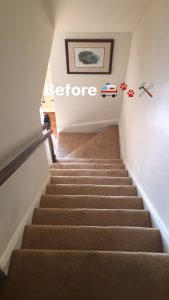 stair lift installed November 2016